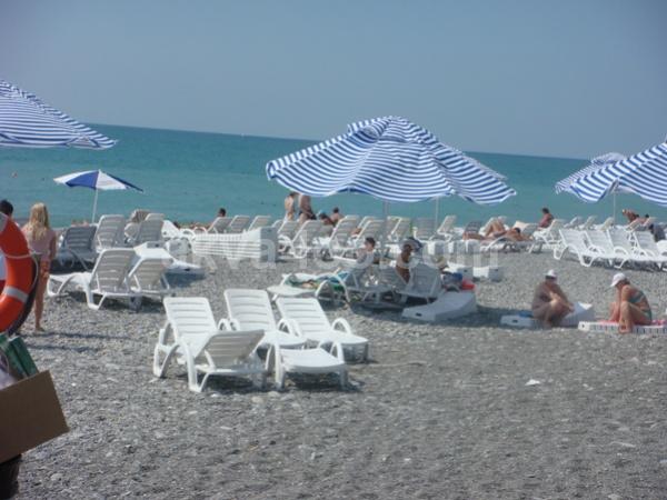 Отели Лазаревского с собственным пляжем  мой список